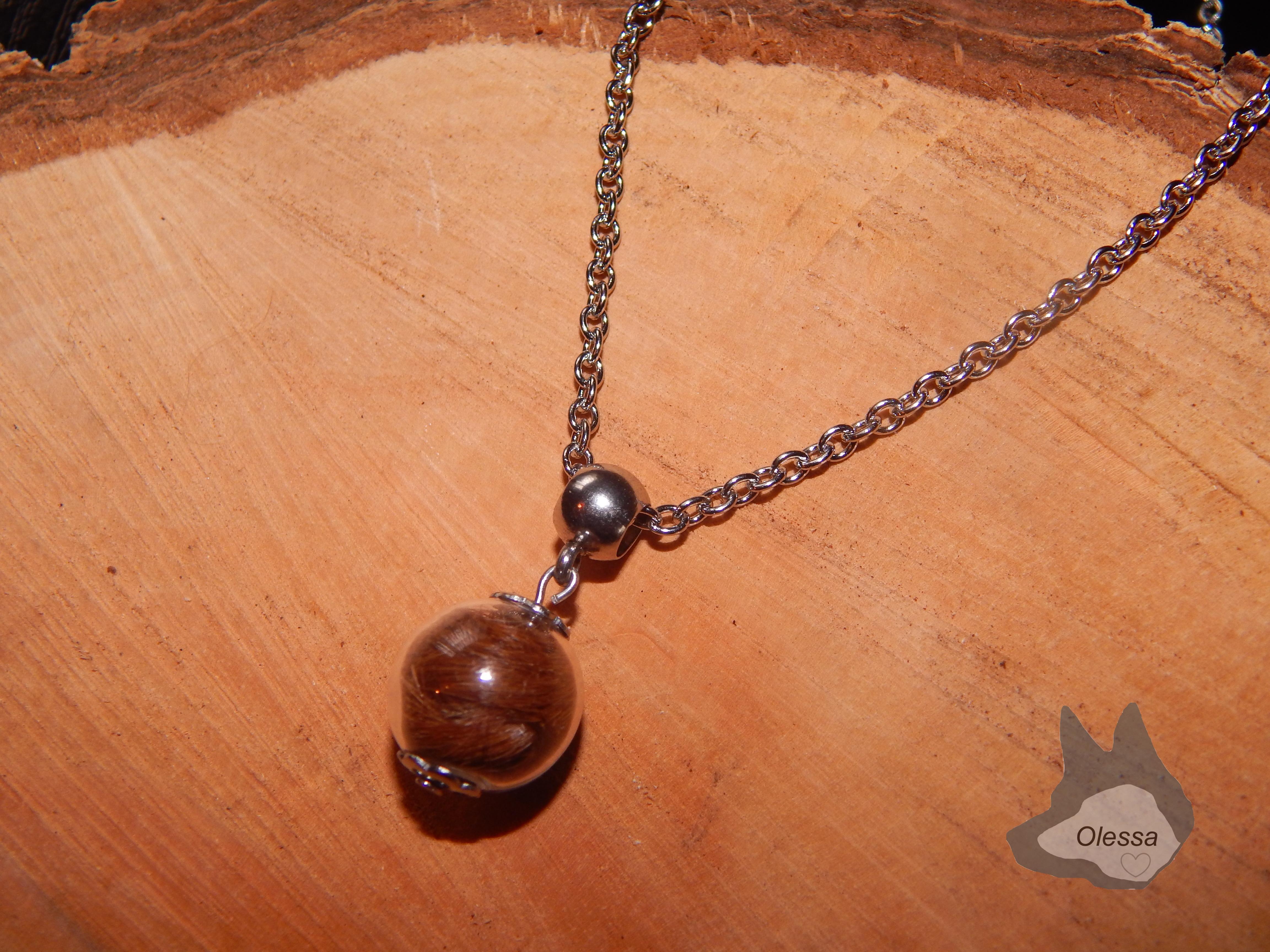 Gliederkette mit kleiner perle